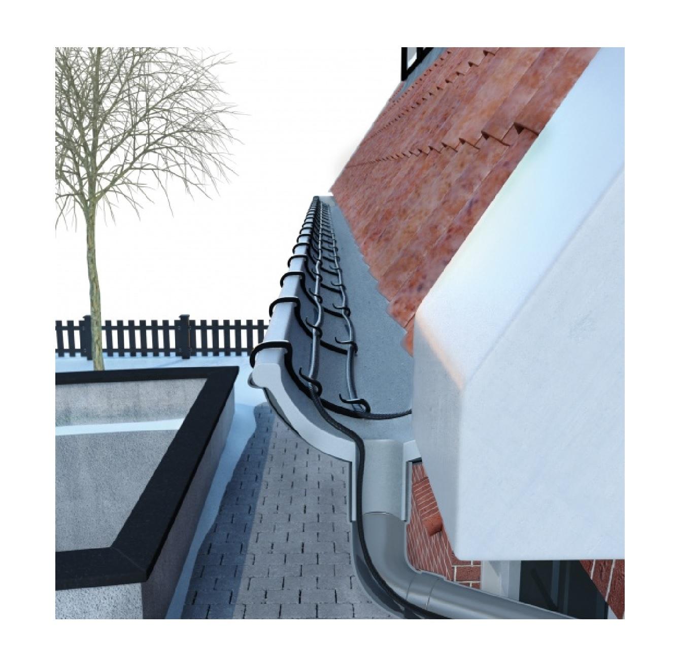 MAGNUM Trace Gutter Heat önszabályzó fűtőkábel ereszcsatornákhoz